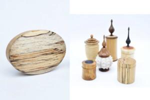 Werk van houtdraaier Jan Hovens