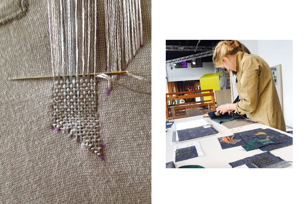 Masterclass Visible Mending door Heleen Klopper