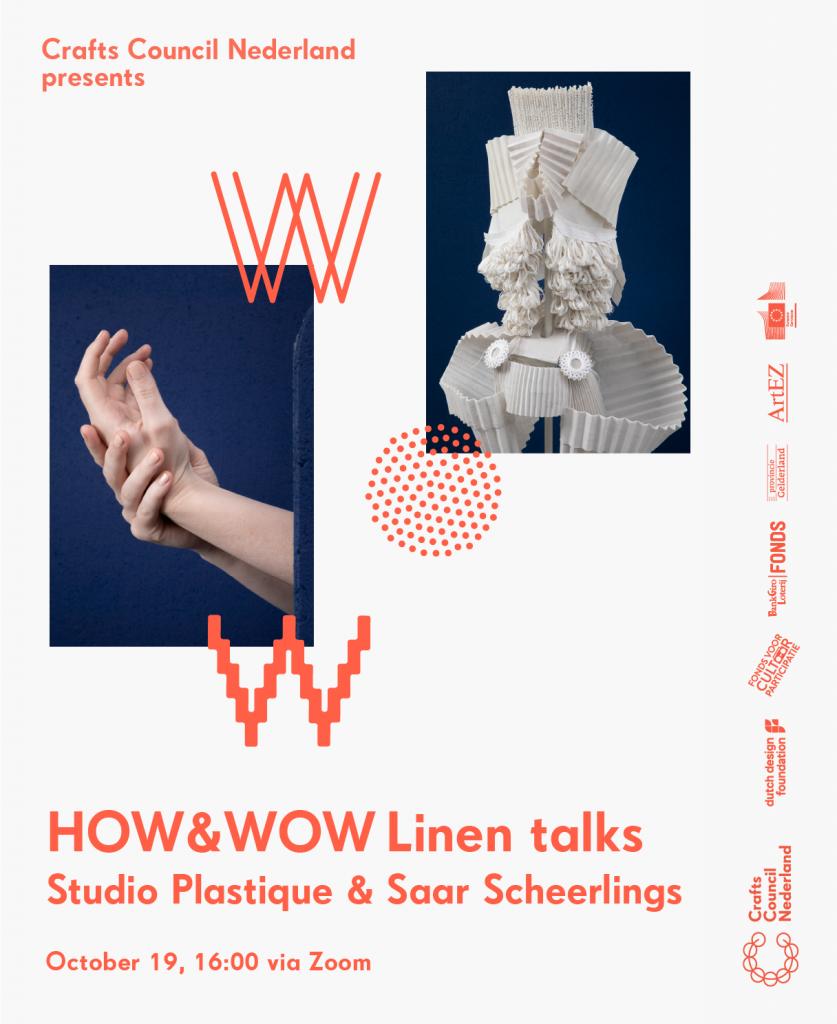HOW&WOW Linen talks Studio Plastique & Saar Scheerlings